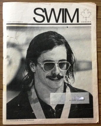 Byron MacDonald SWIM Magazine August 1975 issue #18