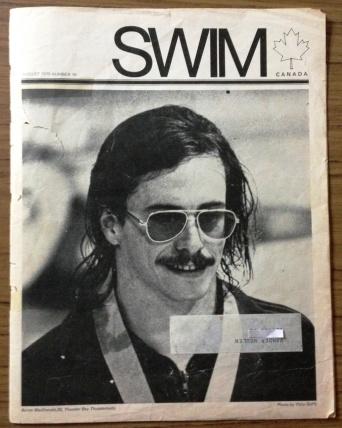 Byron MacDonald SWIM Magazine August 1975 issue #18